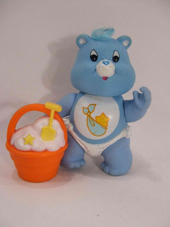 VINTAGE BABY TUGS CARE BEAR POSEABLE